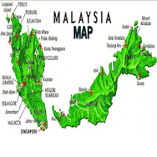 Simple Malaysia Map Offline