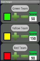 Screenshot of Score Keeper