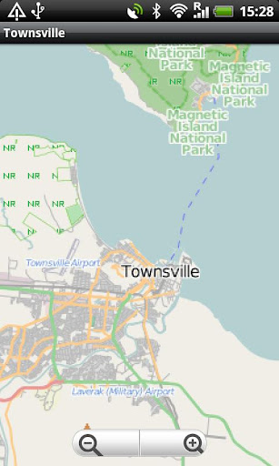 Townsville Magnetic Island Map