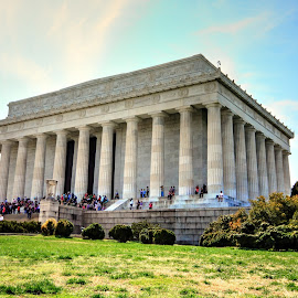 Lincoln Memorial, DC by Mithun Das - Buildings & Architecture Statues & Monuments