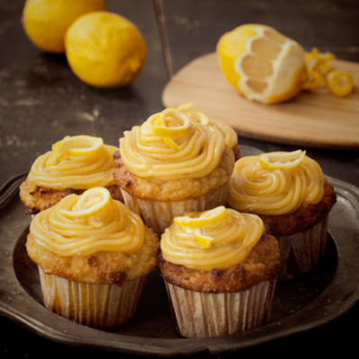 Coconut & Lemon Cupcakes