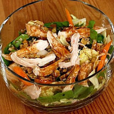Chinese Chicken & Walnut Salad