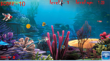 Screenshot of fish game