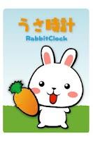 Screenshot of RabbitClockWidget