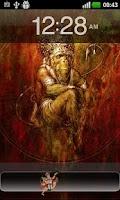 Screenshot of God Hanuman  Go locker Theme