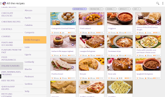 Screenshot of GialloZafferano Recipes