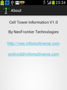Cell Tower Info and Signal - screenshot