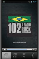 Screenshot of 102 A Rádio Rock/Santos/Brasil