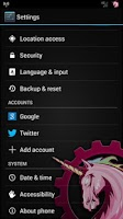 Screenshot of AOKP ROM CONTROL THEME CHOOSER
