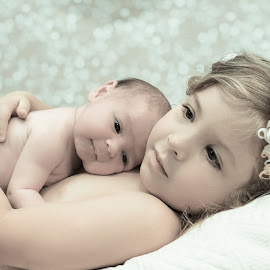 sisters by Pam Donaldson - Babies & Children Child Portraits (  )