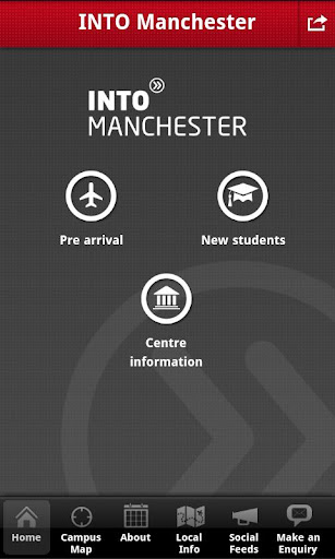 INTO Manchester student app