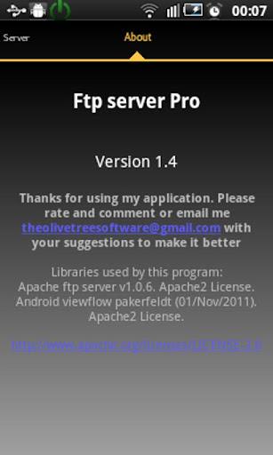 玩工具App|FTP 服务器 Pro免費|APP試玩