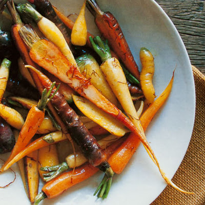 Braised Saffron Carrots