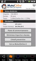 Screenshot of App MutuiOnline Android