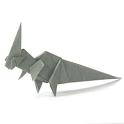 Dinosaur Origami 6
