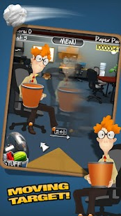 Paper Toss 2.0 Screenshot