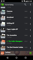 Screenshot of PlayerPro Music Player Trial