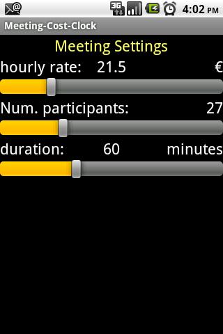 Meeting-Cost Clock