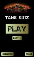 Screenshot of WoT Tank Quiz