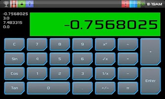 Screenshot of Simple RPN Calculator