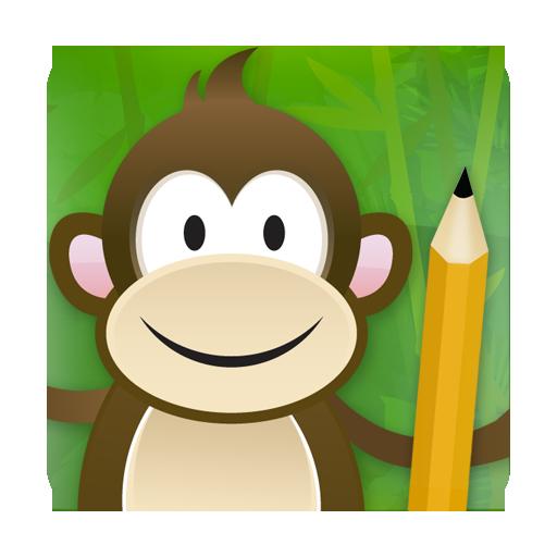 Monkey Write ★ Learn Chinese LOGO-APP點子