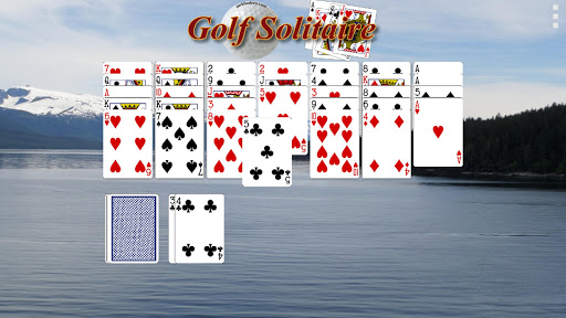 Golf Solitaire - screenshot