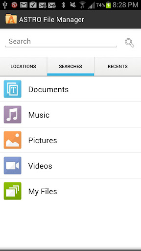 astro-file-manager-browser for android screenshot