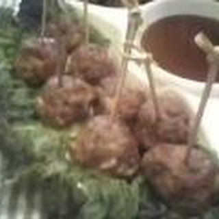 Buffalo Bleu Balls in Red Mud Sauce