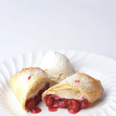 Sour Cherry Strudels