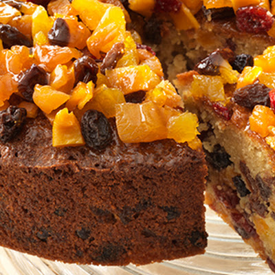 Tropical Tea Fruit Cake