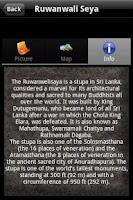 Screenshot of Visit Sri Lanka (Prototype)