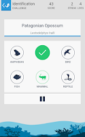 Screenshot of Taxonomy - Animal Quiz