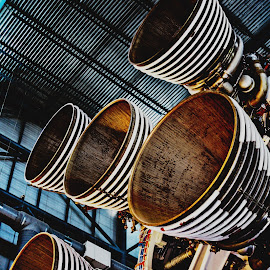 1...2...3...4...V! by Kat Donovan - Transportation Other ( nasa, rocket, katdonovanphotography, space, saturnv )