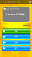 Screenshot of Trivia Quiz