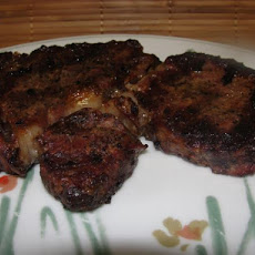Winter Grilled Rib Eye