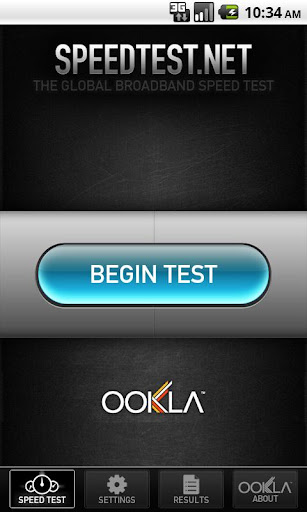 speedtest-net for android screenshot
