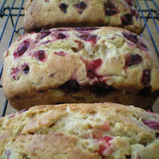 Super Strawberries & Cream Bread