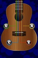 Screenshot of Ukulele Tuner