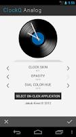 Screenshot of ClockQ Analog - clock widget