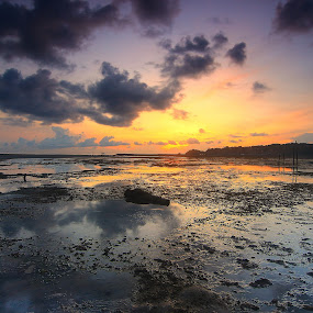 my sunrise by Roem Hasadi - Landscapes Beaches ( nongsa, sunset, indonesia, sunrise, beach, batam )