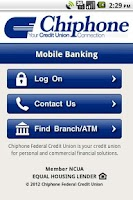Screenshot of Chiphone Federal Credit Union
