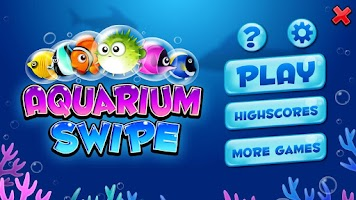 Screenshot of Aquarium Swipe: Bubble Fish