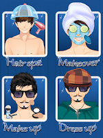 Screenshot of Boy Makeover