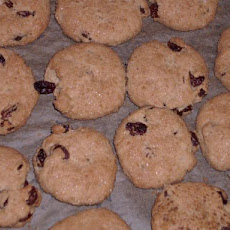 Grape Molasses Raisin Cookies