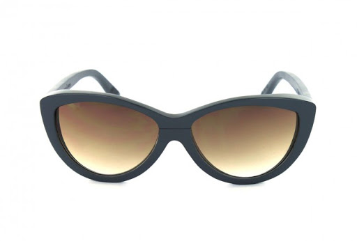 Wood Sunglasses Woodys Barcelona; Sama Grey Brown
