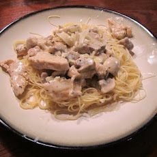 Chicken and Mushrooms in Sherry-Cream Sauce