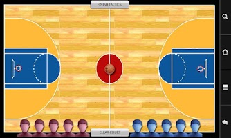 Screenshot of Basketball FiveOnCourt