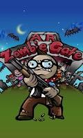 Screenshot of AR ZombieGate