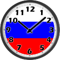 Russia Clock icon