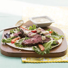Black Pepper Sirloin Wrap with Kickin' Chipotle Spread